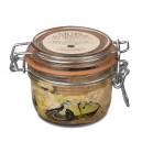 Foie gras entier de canard en conserve truffé à 10% 130 gr